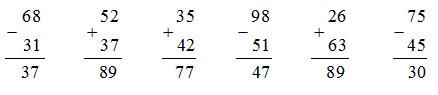 Giải Toán lớp 1 bài Ôn tập : các số đến 100 trang 175