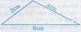 Giải Toán lớp 7 Bài 3: Quan hệ giữa ba cạnh của một tam giác. Bất đẳng thức tam giác