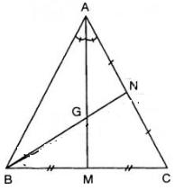 Giải Toán lớp 7 Bài 6: Tính chất ba đường phân giác của tam giác